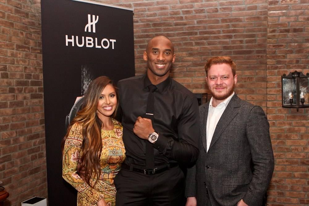Hublot Hosts Exclusive Dinner with Brand Ambassador Kobe Bryant