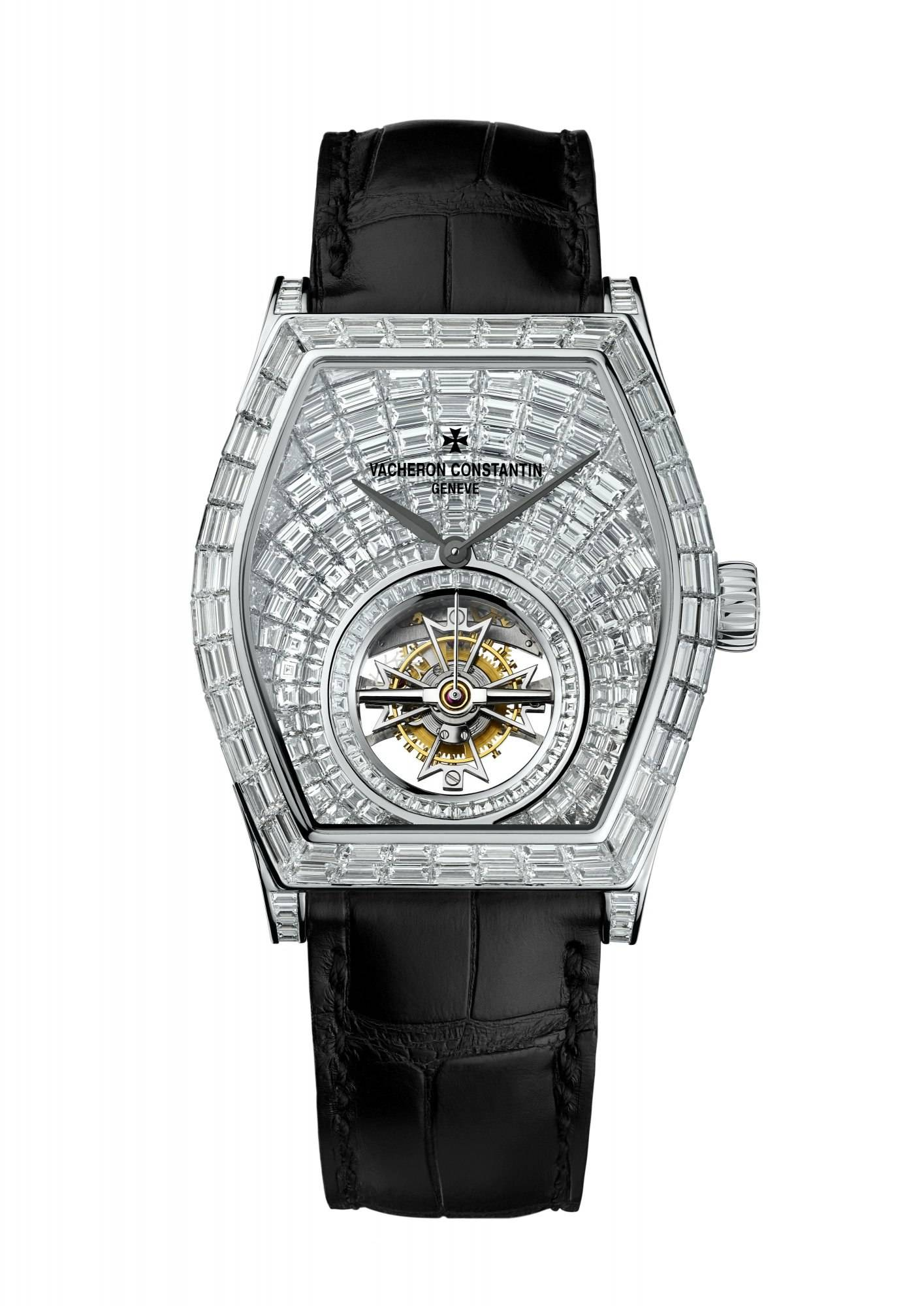 Vacheron Constantin Malte Tourbillon High Jewelry.