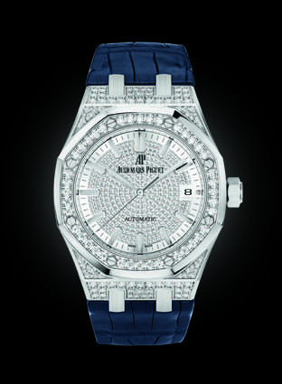 Audemars Piguet RO Automatic with diamonds.