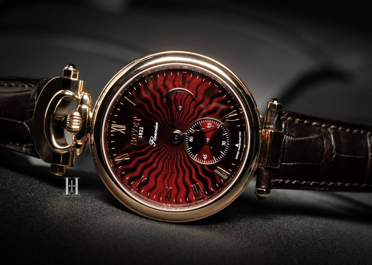 Bovet Amadeo Fleurier 43 New York boutique edition.