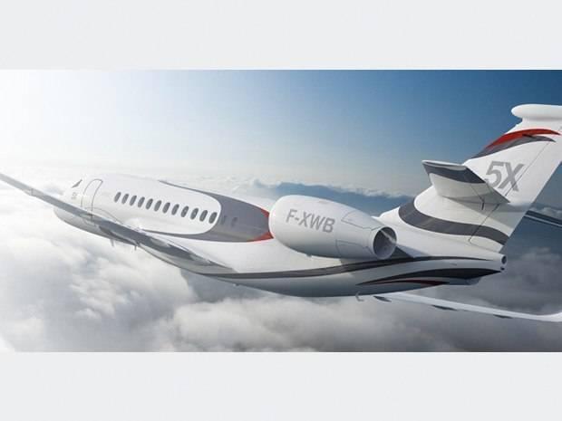 Haute Jet of the Week: Dassault Falcon 5X