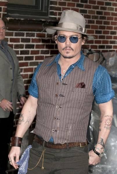 Johnny Depp Spotted Wearing Ballon Bleu De Cartier Best