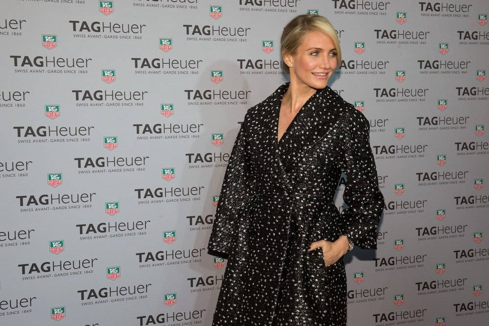 Cameron Diaz Helps TAG Heuer Open New York Flagship
