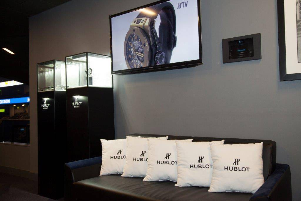 Ambience of the Hublot Suite (3)