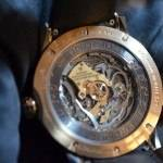 Back of the Christophe Claret Soprano tourbillon minute repeater