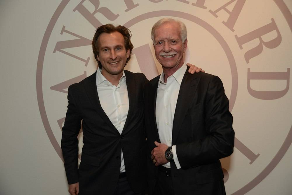 Bruno Grande and Captain Sullenberger