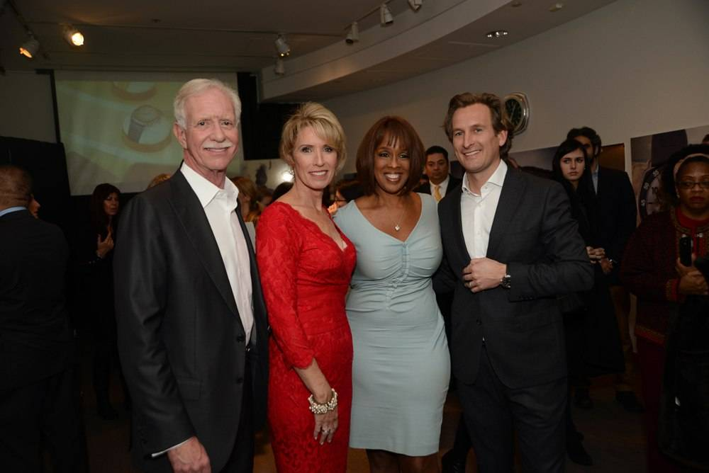 Captain Sullenberger, Lorrie Sullenberger, Gayle King, Bruno Grande