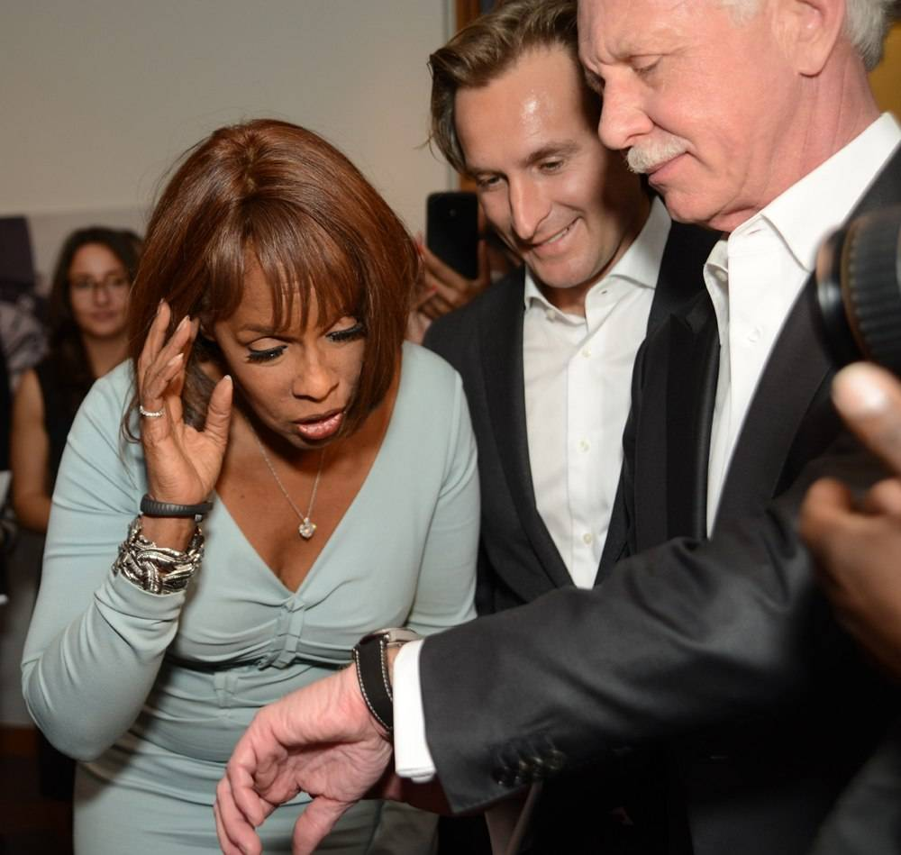 Gayle King, Bruno Grande, Captain Sullenberger
