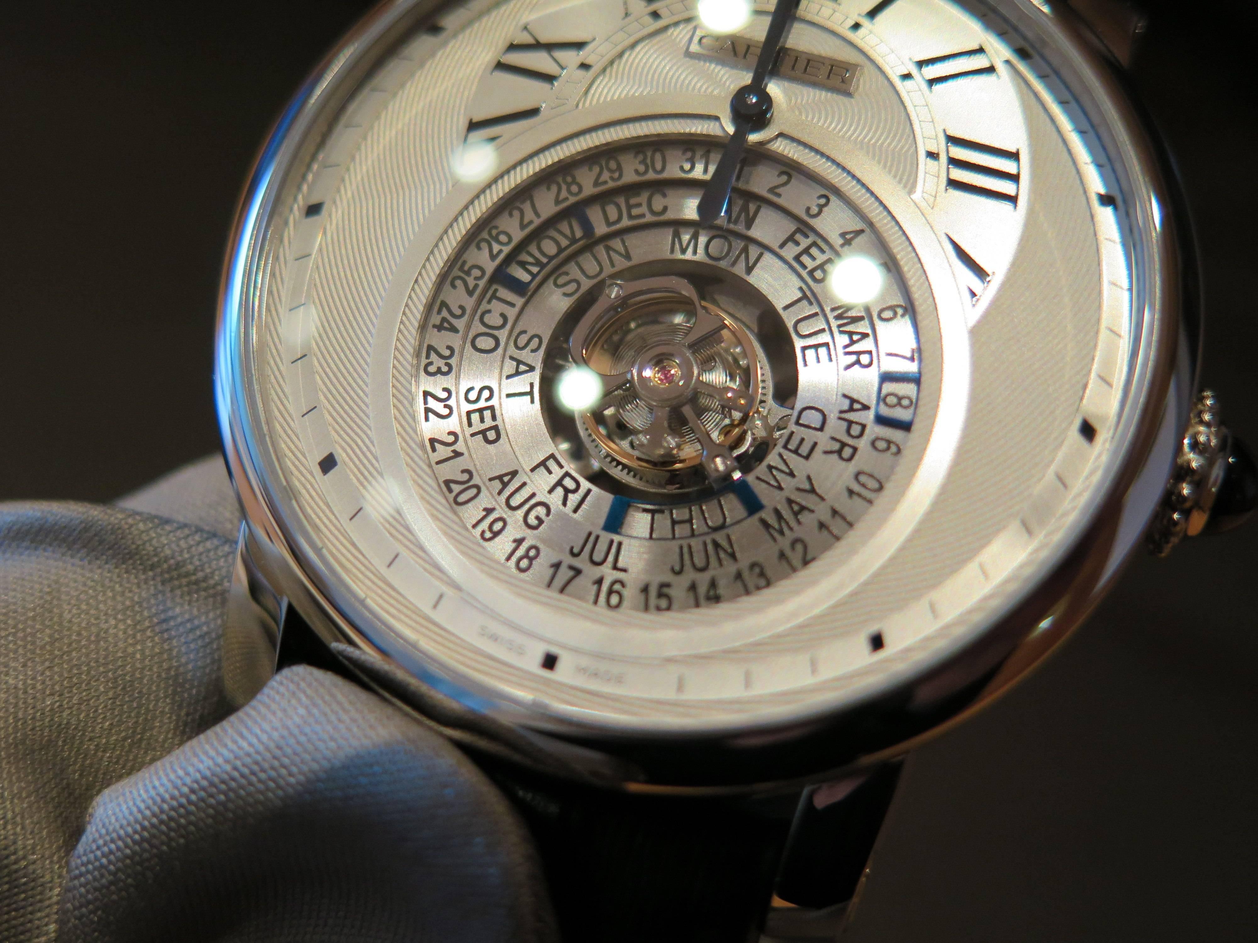 Cartier Rotonde Astrocalendaire.