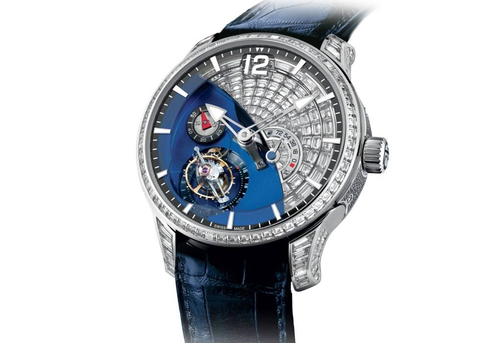 Carmelo Anthony's Haute Time Watch of the Day:  Greubel Forsey Tourbillon 24 Secondes Contemporain