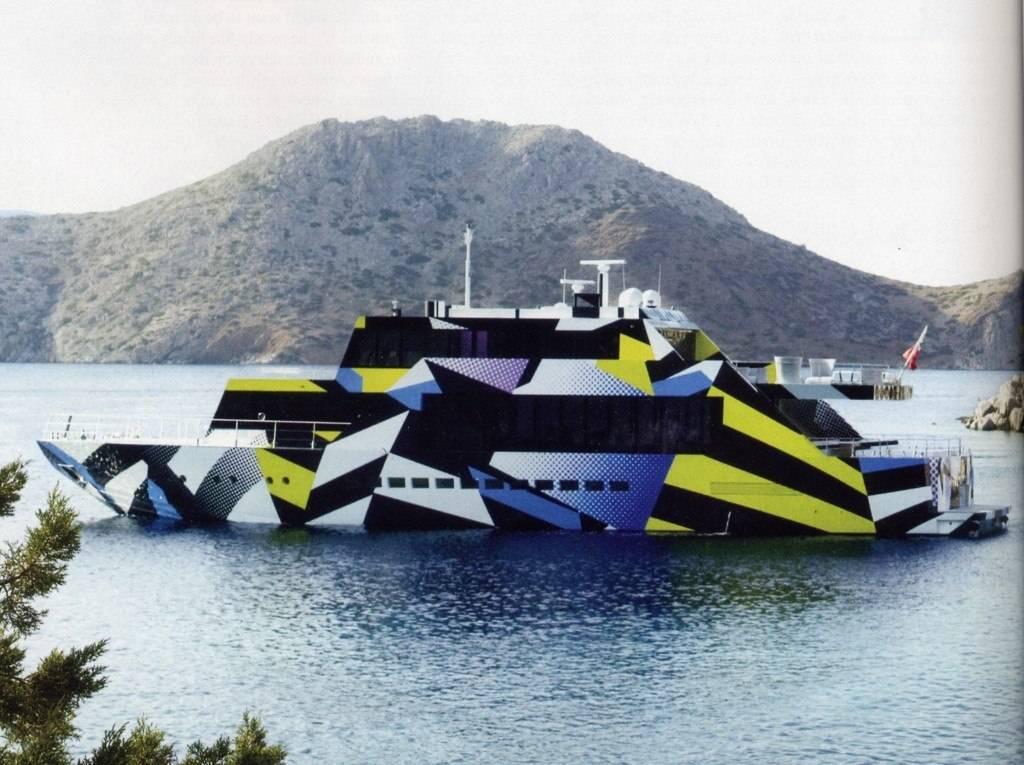 Haute Yacht of the Week: Jeff Koons' GUILTY