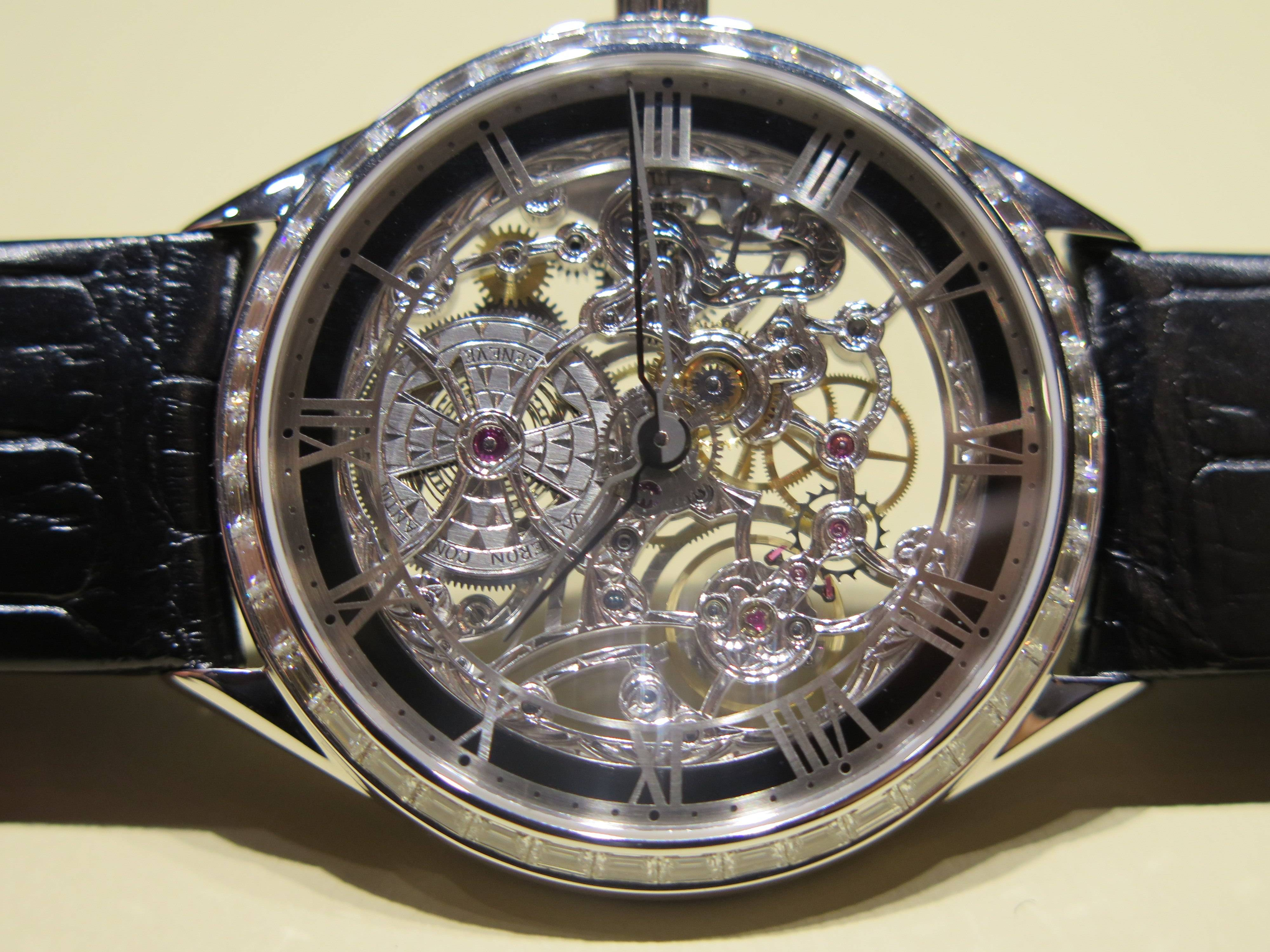 Best Skeletonized Watches of SIHH 2014