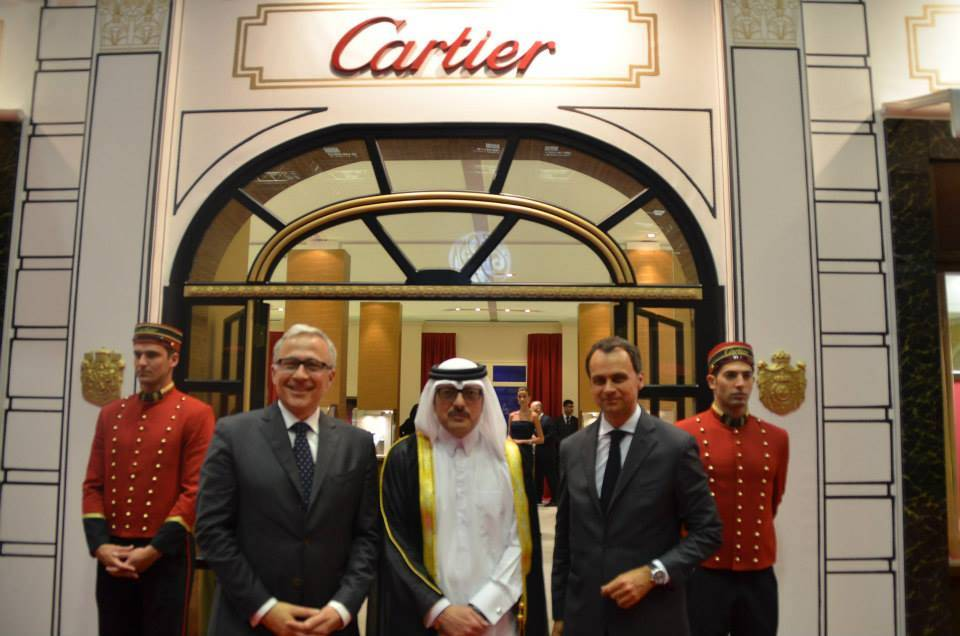 Cartier Brings Paris to Qatar at Doha Jewelry & Watches Exhibition