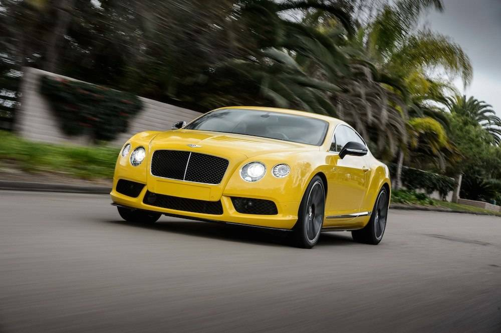 Haute Auto of the Week: 2015 Bentley Continental GT V8 S
