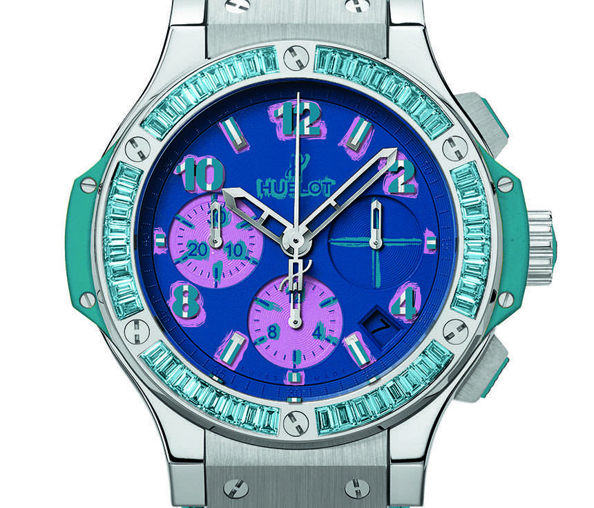 Carmelo Anthony's Haute Time Watch of the Day: Hublot Big Bang Pop Art