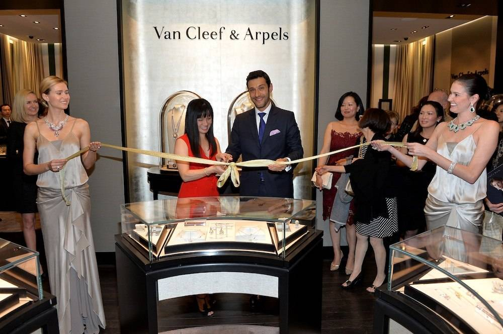 Van Cleef & Arpels Celebrates The Re-Design Of The Maison's South Coast Plaza Boutique