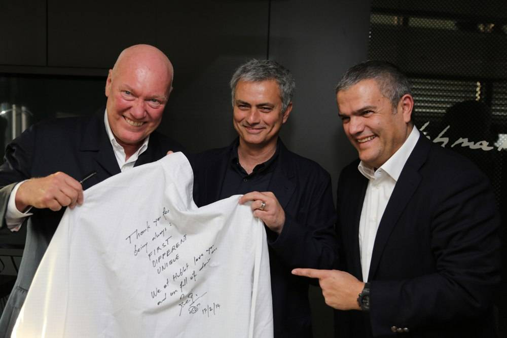 "Hublot Teams Up With ""The Special One"" José Mourinho"