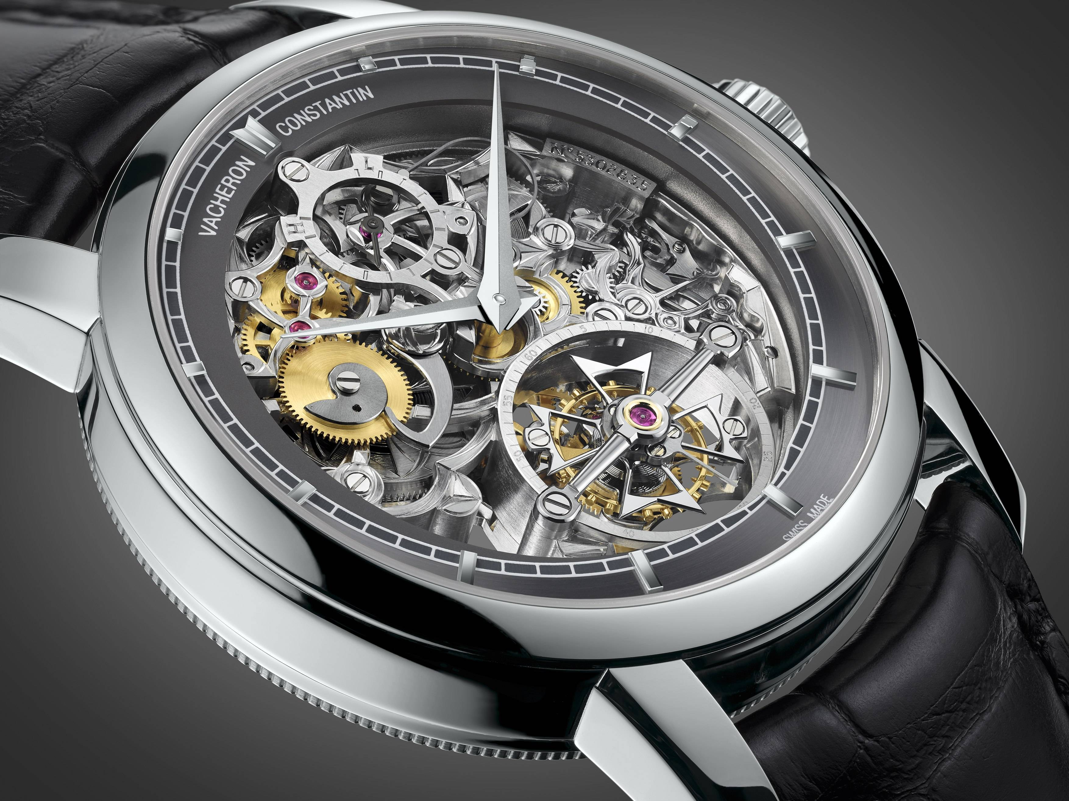 Patrimony Traditionnelle 14-day Tourbillon Openworked.