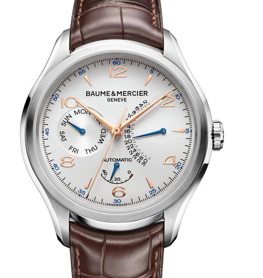 Baume & Mercier Clifton Retrograde Date Automatic.