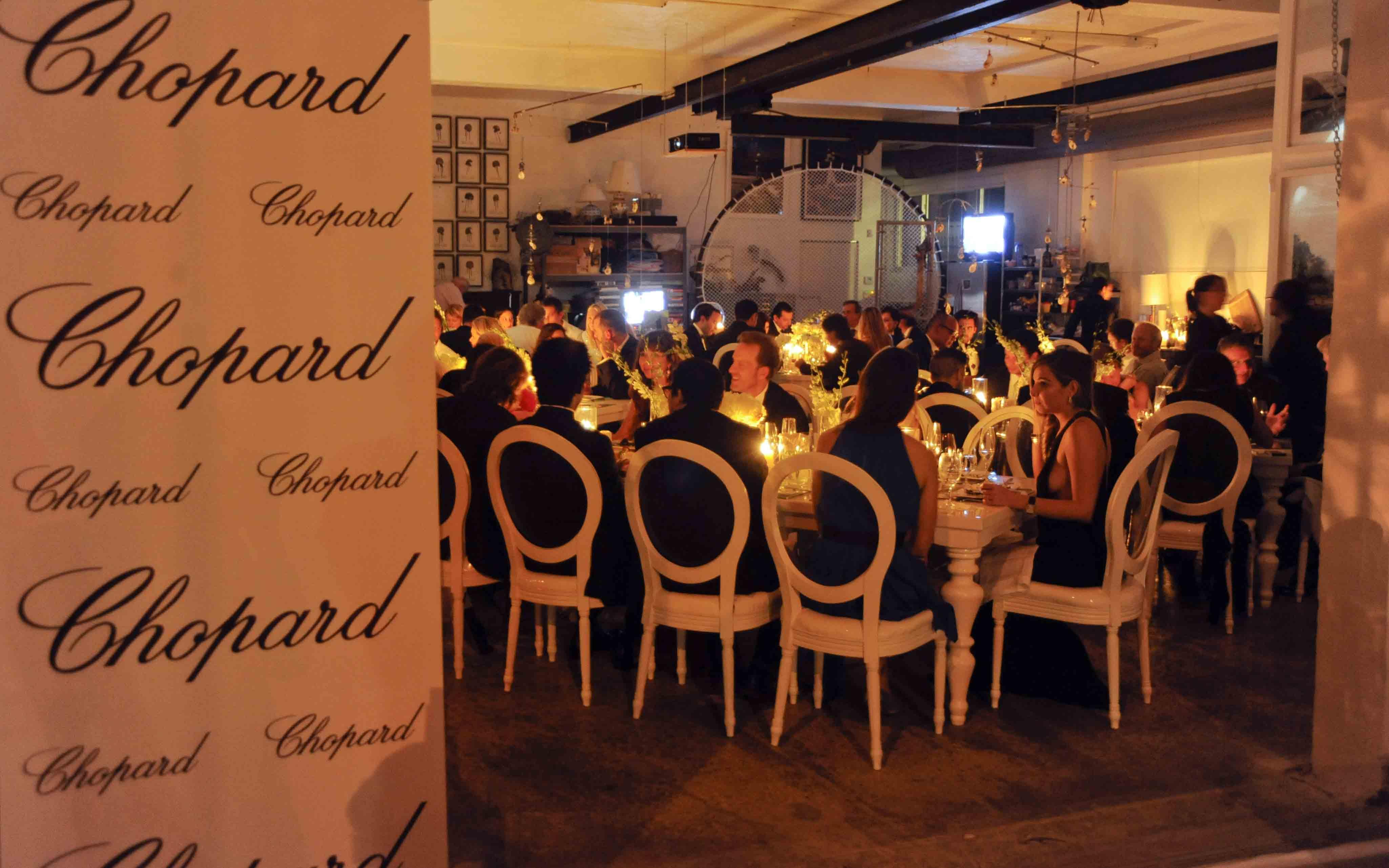 Chopard Dinner - LR