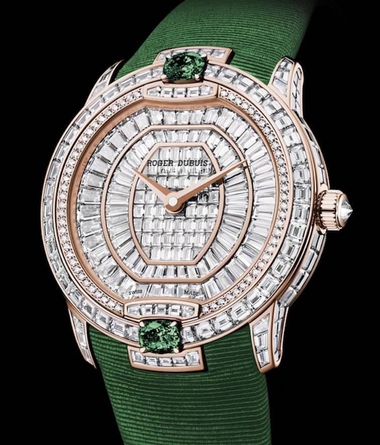 Velvet Haute Joaillerie in pink gold with emeralds 3
