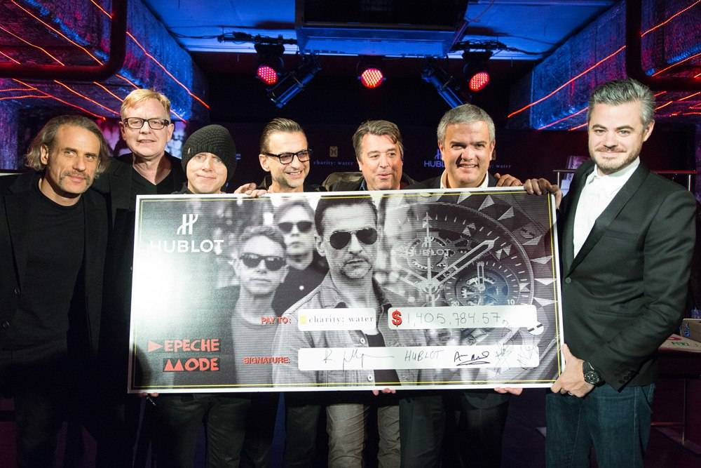 Hublot and Depeche Mode Raise $1.4 Million for Charity: Water