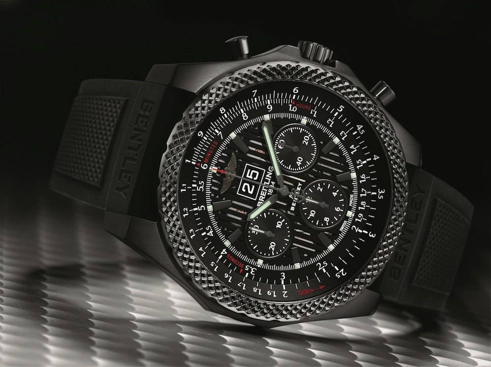 Breitling Unveils Bentley 6.75 Midnight Carbon