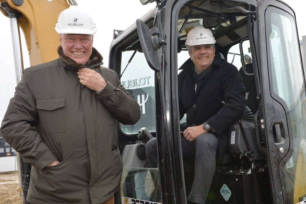 Hublot Breaks Ground at New Manufacture in Nyon
