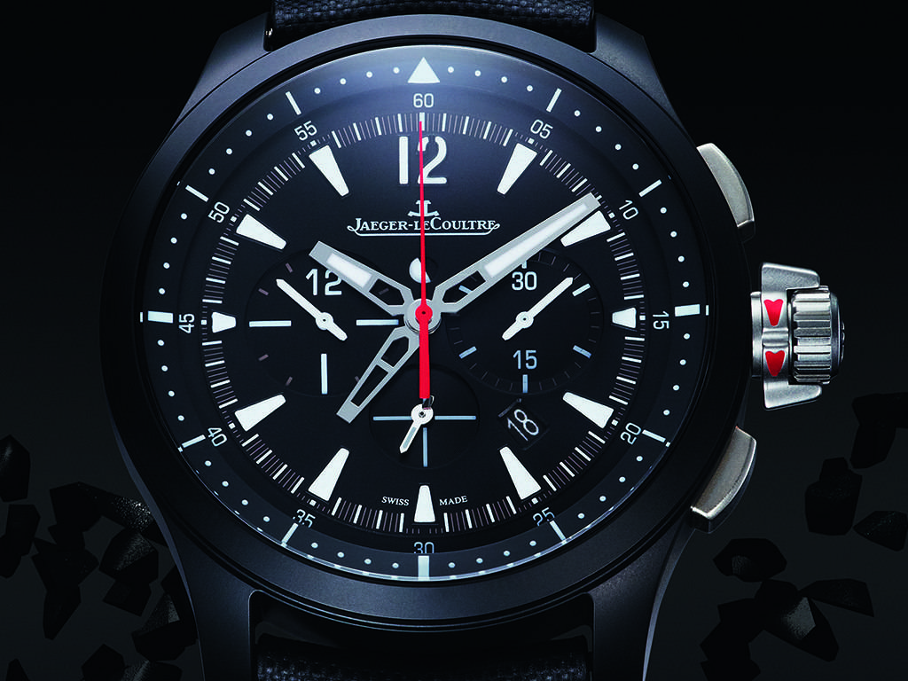 Carmelo Anthony's Haute Time Watch of the Day: Jaeger-LeCoultre Master Compressor Chronograph Ceramic