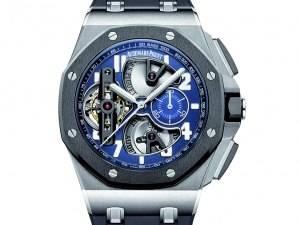 Carmelo Anthony's Haute Time Watch of the Day: Audemars Piguet Royal Oak Offshore Tourbillon Chronograph