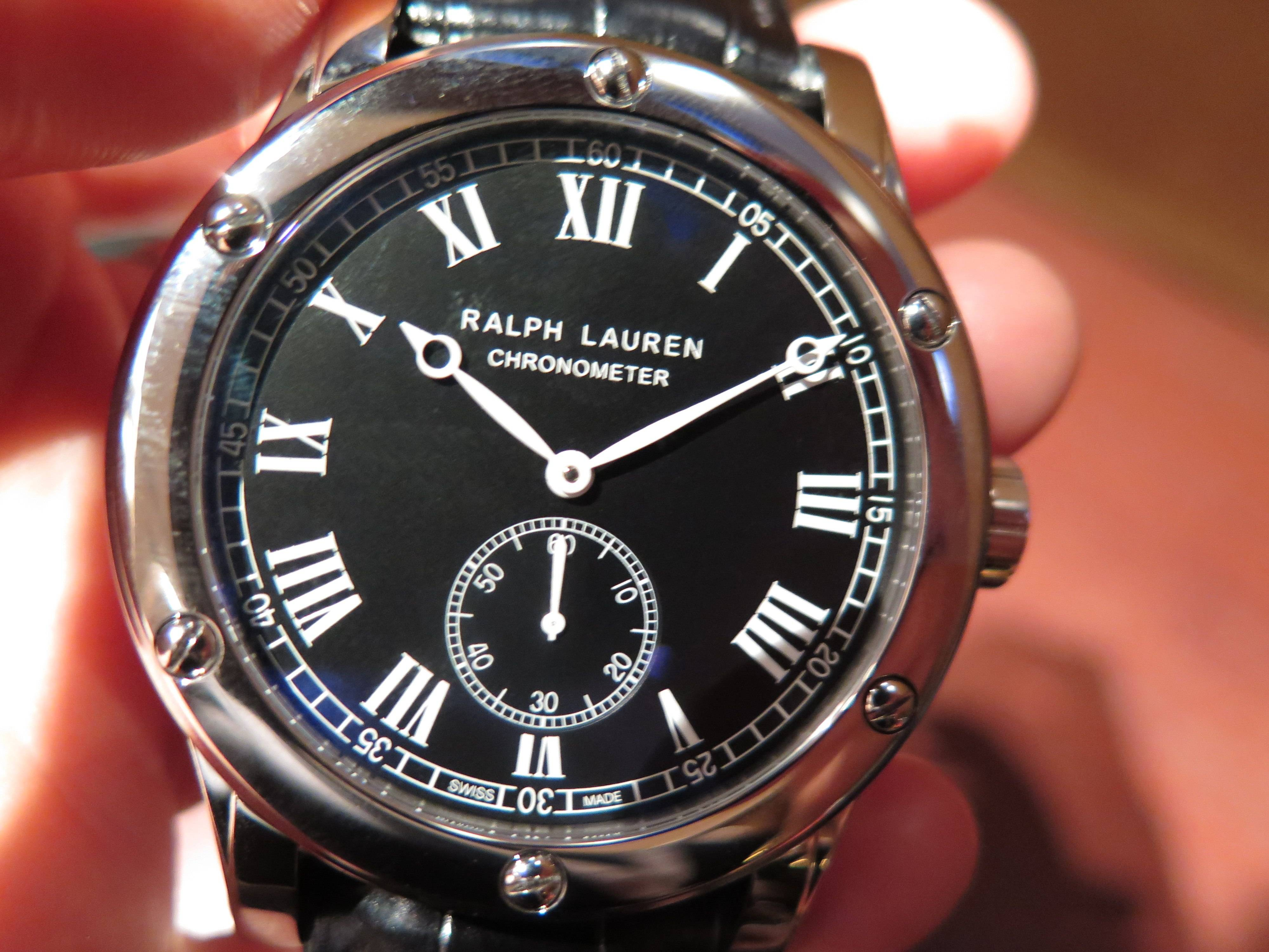 Ralph Lauren Classic Chronometer.