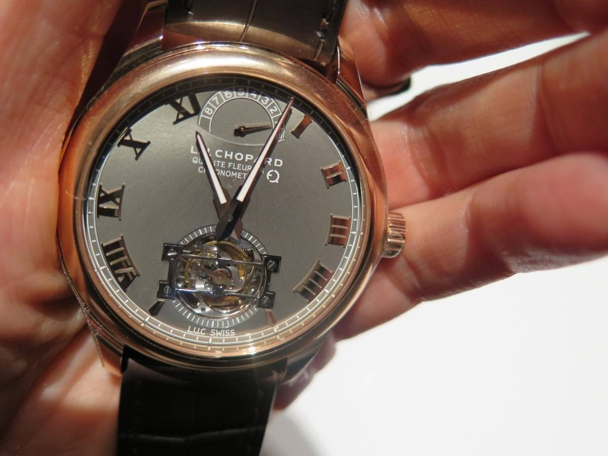 chopard fair mined tourbillon