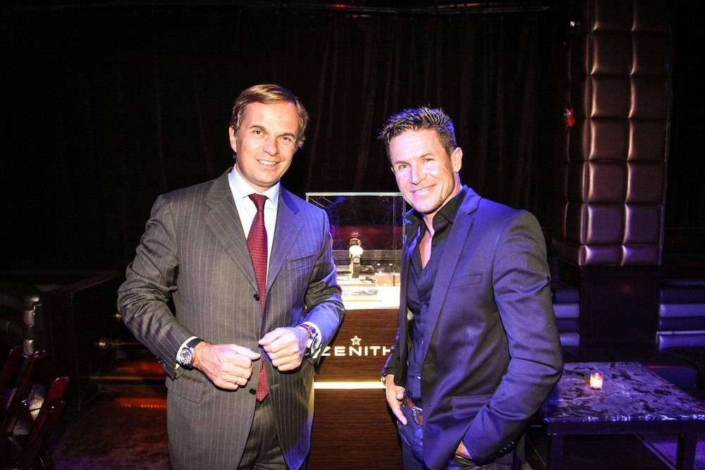 Felix Baumgartner & ZENITH Watches Host Evening At Lavo NYC