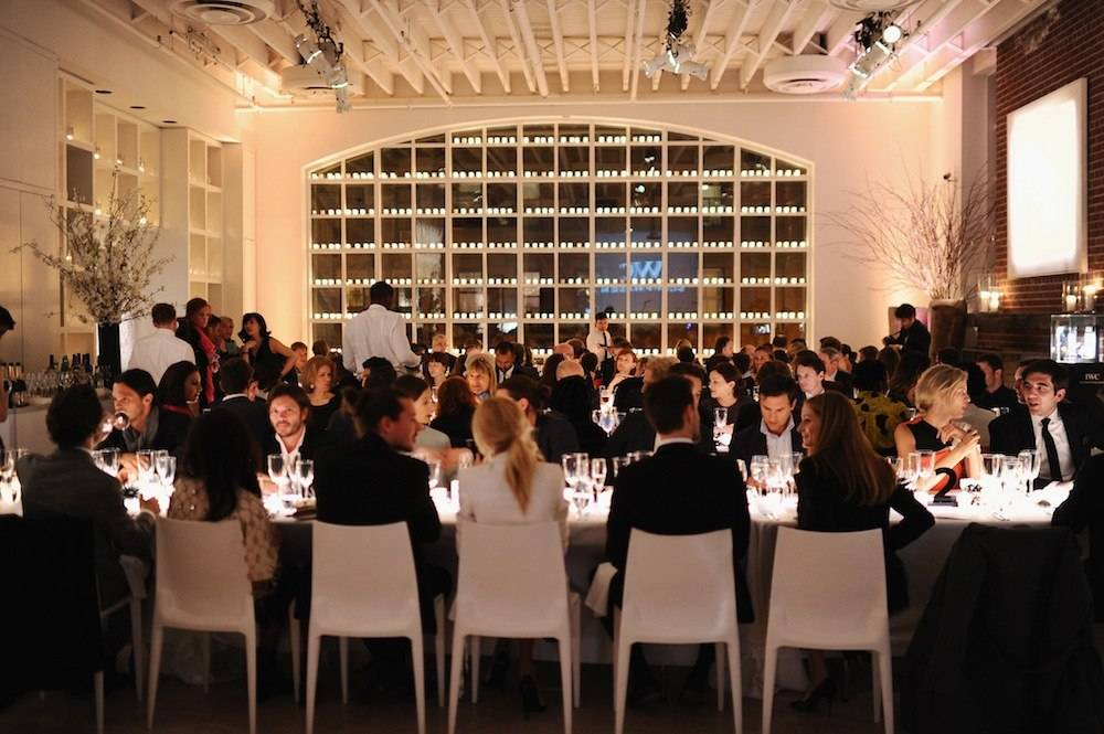 "IWC Schaffhausen And Tribeca Film Festival Host ""For the Love of Cinema"" Private Dinner"
