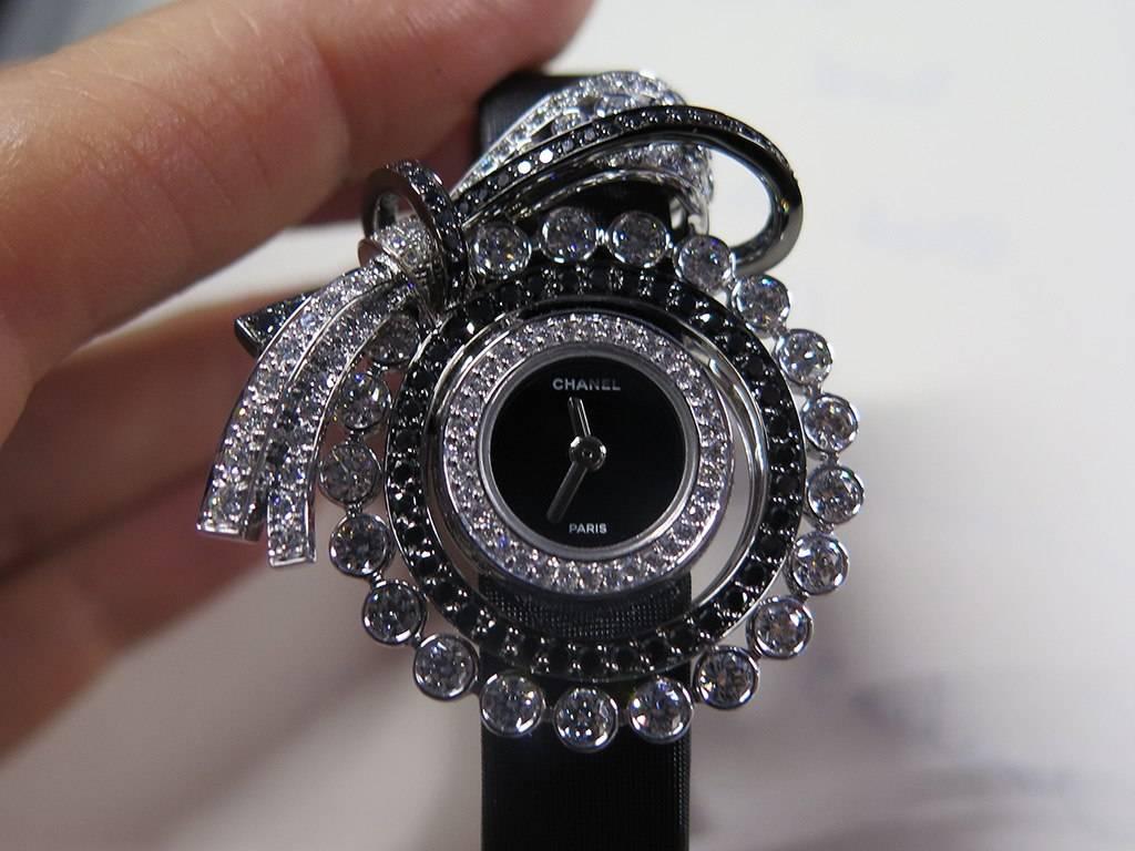 "Chanel ""1932""  high jewelry watch."