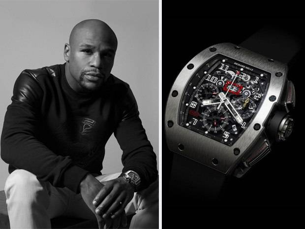 Floyd Mayweather Spotted Wearing Richard Mille RM 011