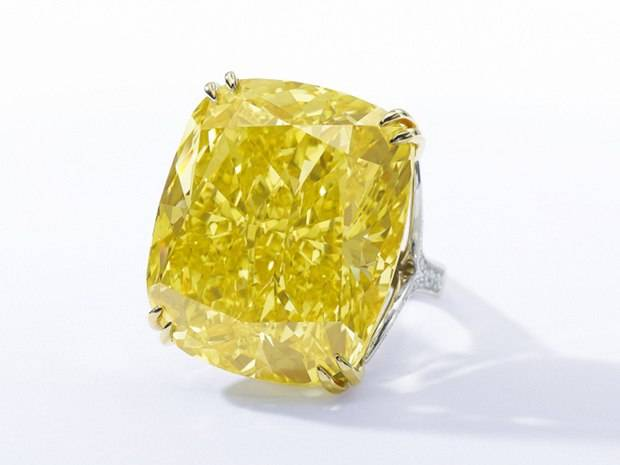 Yellow Diamond Graff Ring Sells for $16,347,847 at Auction