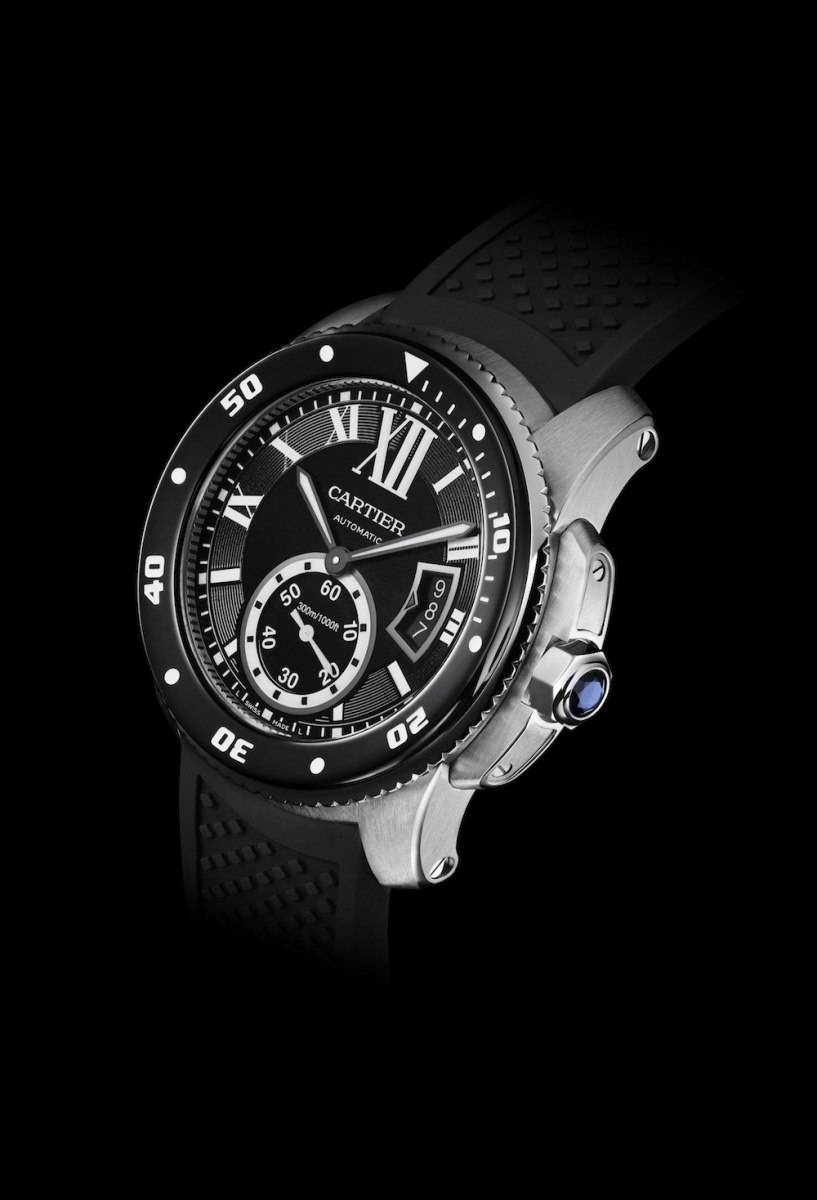 The Calibre de Cartier Diver is one of the few watches that meet the IS 6425 criteria