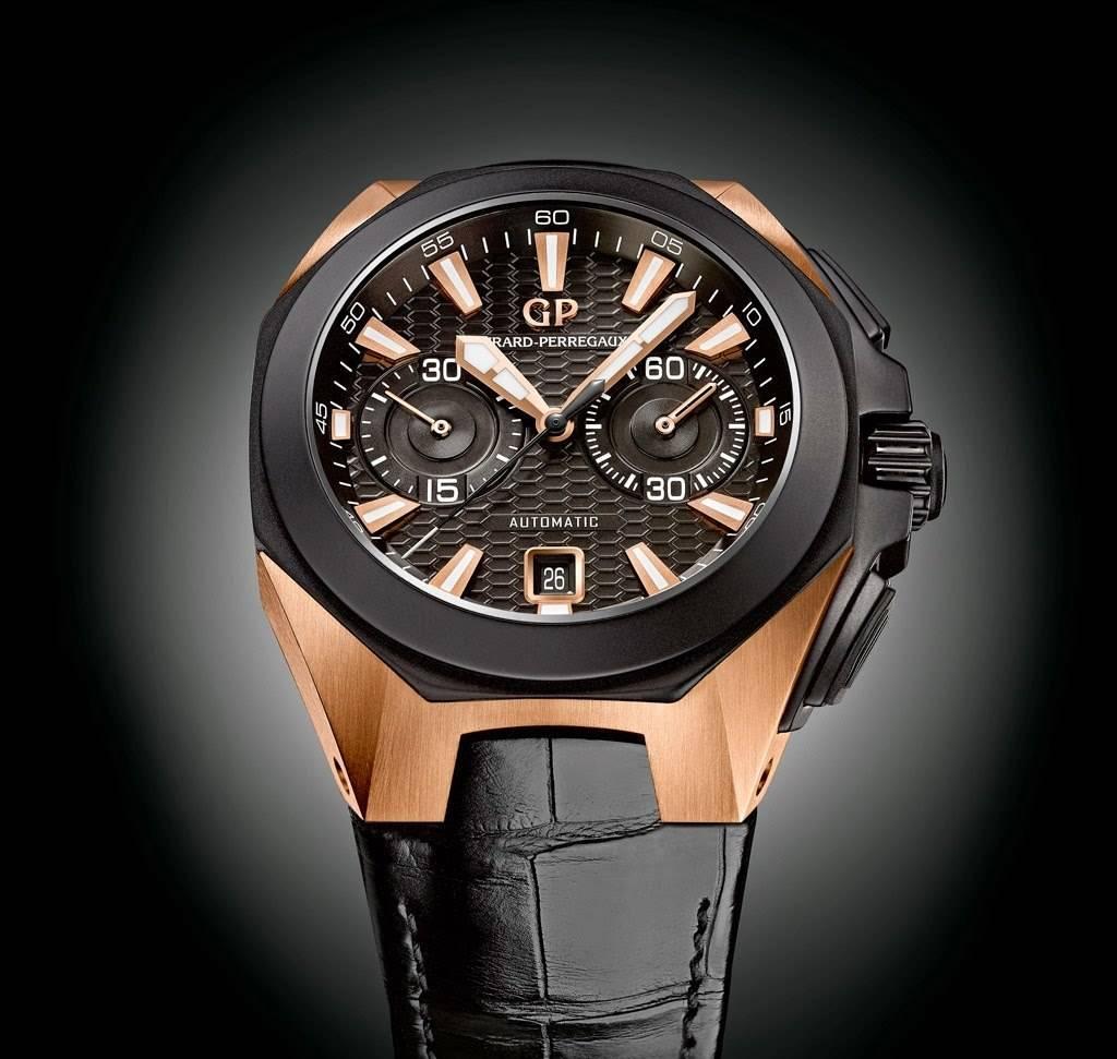 Girard-Perregaux Releases Chrono Hawk Pink Gold