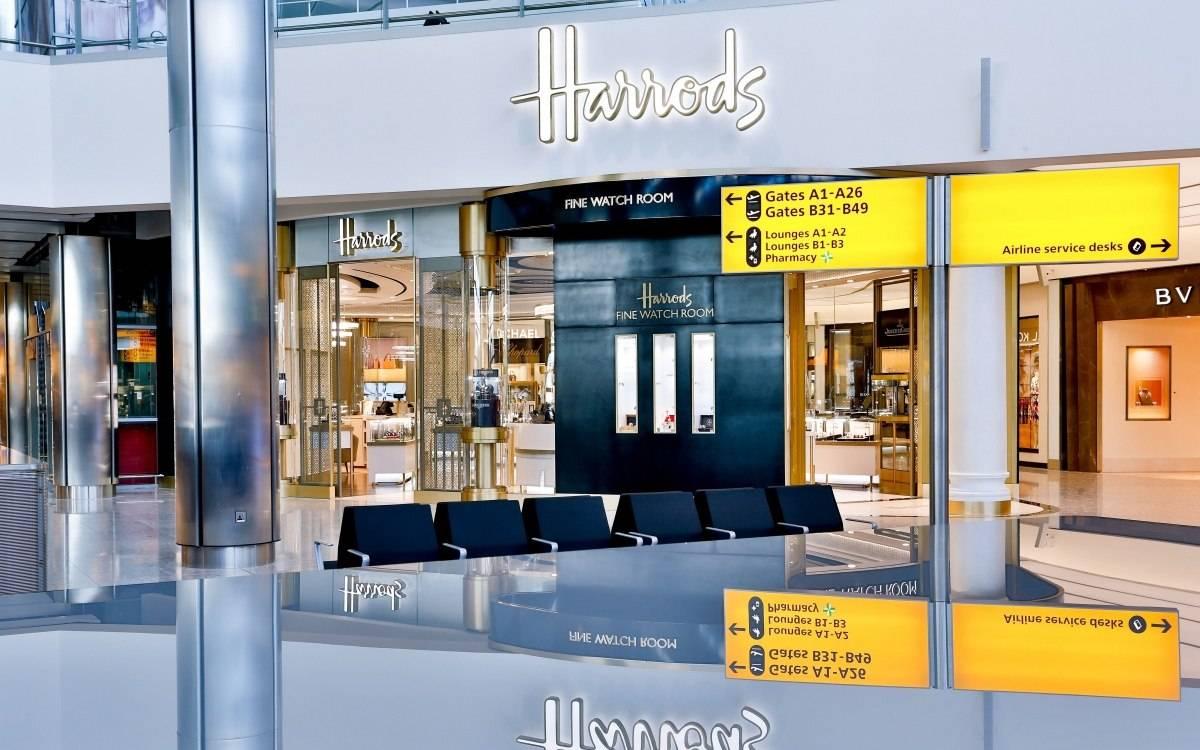 Harrods Opens Fine Watch Room At Heathrow