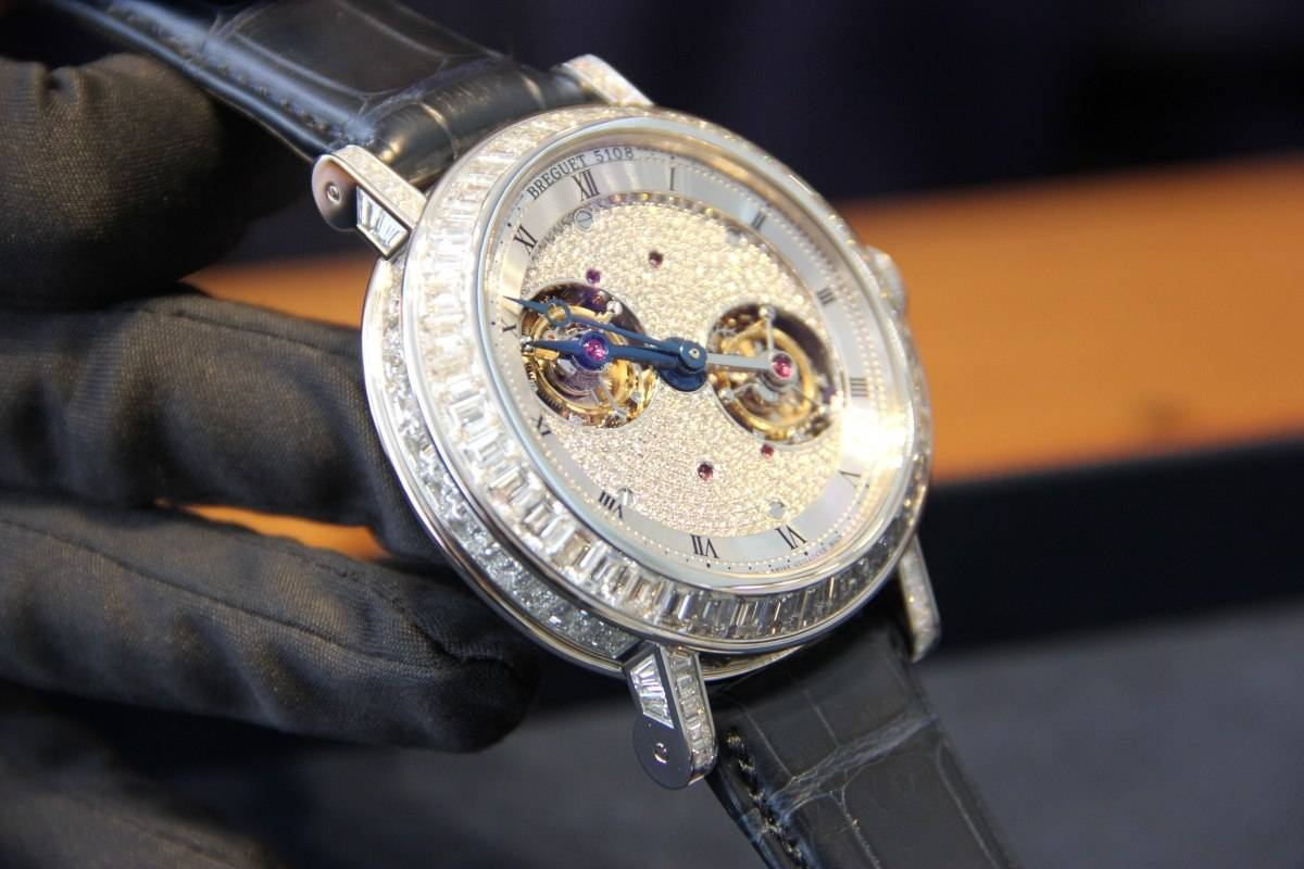 Haute Time Visits Breguet in London