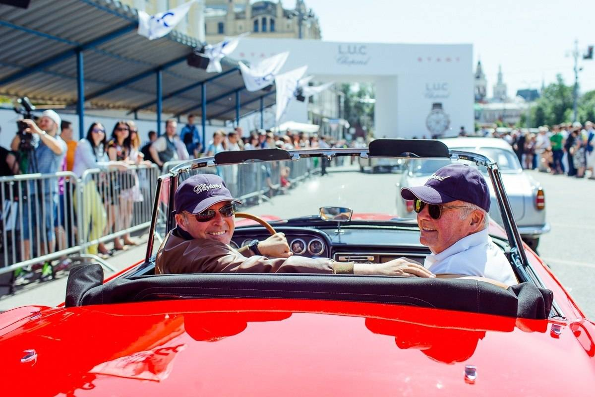 Chopard Hosts the L.U.C Classic Weekend Rally in Moscow