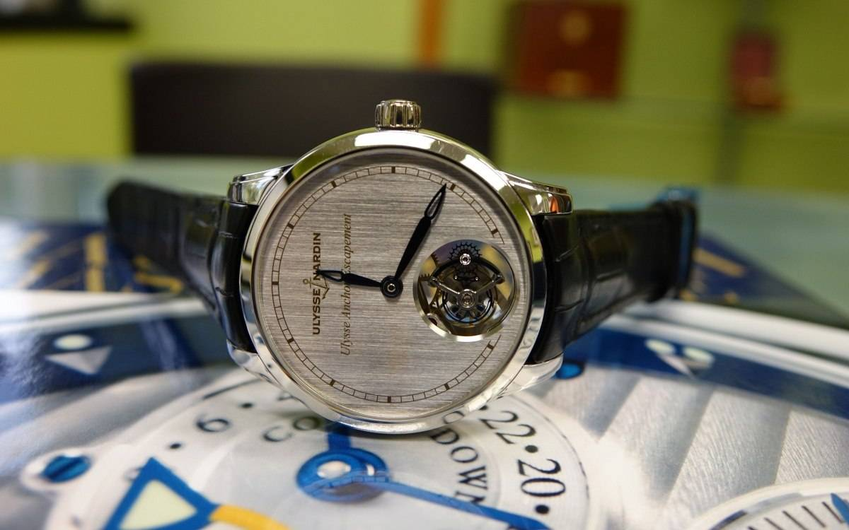 Hands On With the Anchor Escapement Prototype, From Ulysse Nardin (With Live Photos…).
