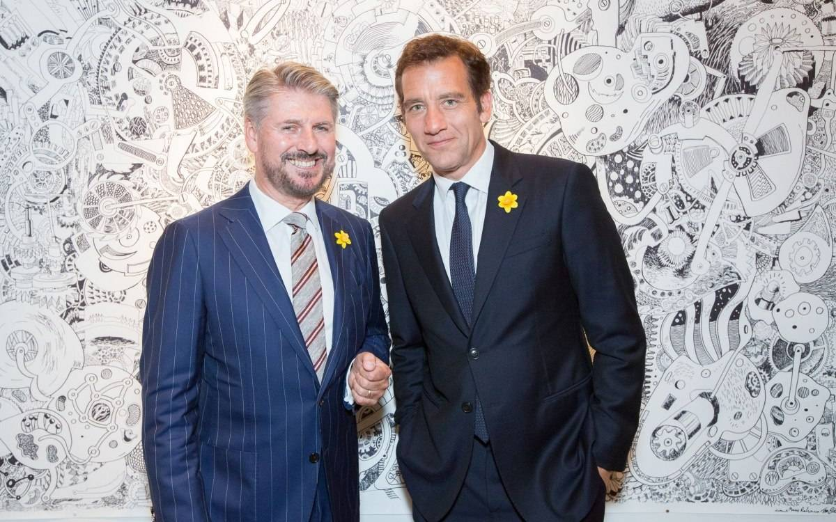 Spotted: Clive Owen and Jaeger-LeCoultre Support Marie Curie