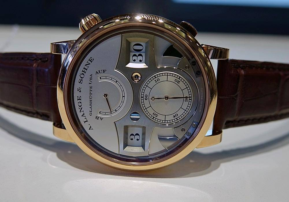 Carmelo Anthony's Haute Time Watch of the Day:  A. Lange & Söhne Zeitwerk Striking Time