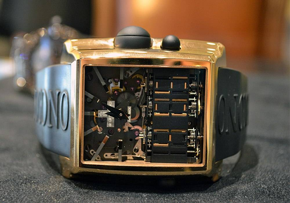 Carmelo Anthony's Haute Time Watch of the Day:  deGrisogono Meccanico DG N05