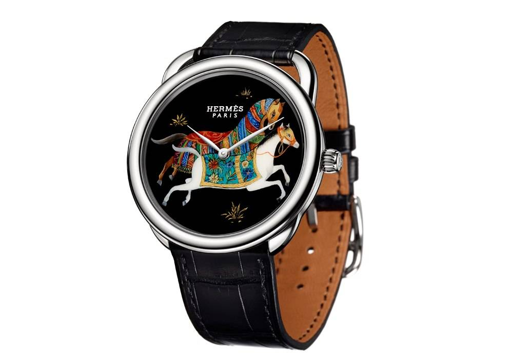 Carmelo Anthony's Haute Time Watch of the Day:  Hermes Arceau Cheval d'Orient