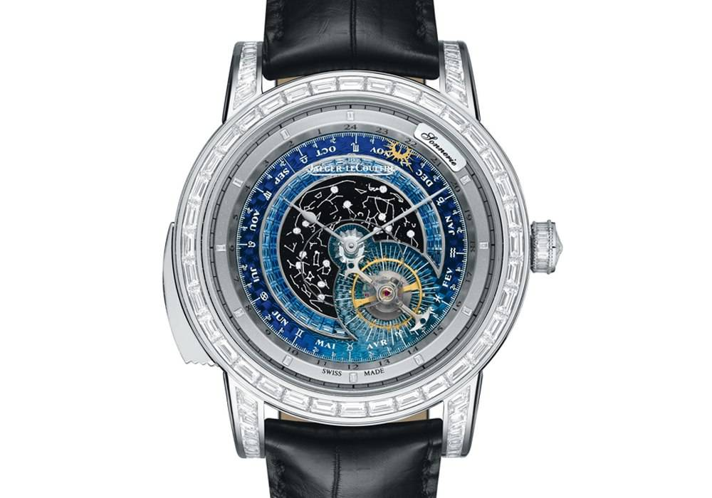Carmelo Anthony's Haute Time Watch of the Day:  Jaeger-leCoultre Master Grand Tradition Complication