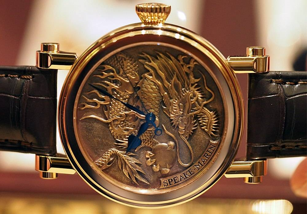 Carmelo Anthony's Haute Time Watch of the Day:  Speake-Marin Born Watch