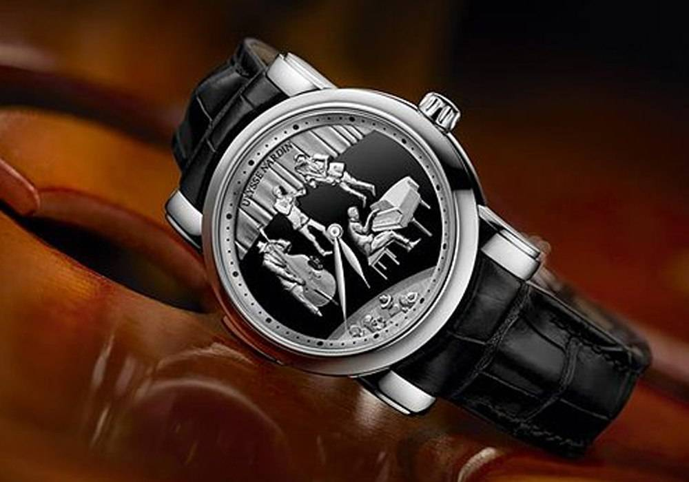 Carmelo Anthony's Haute Time Watch of the Day:  Ulysse Nardin Jazz Minute Repeater